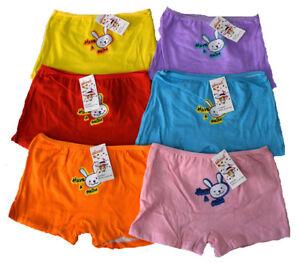 Kinder-Boxershorts-Neu-Maedchen-Boxershorts-SUSS-Maedchen-Unterhose-Slip-s