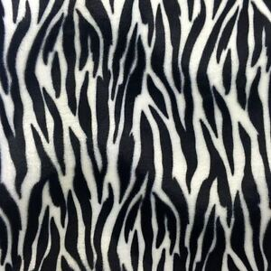 "Pink Zebra Big Print Velboa Faux Fur Fabric 58/"" 60/"" BTY"