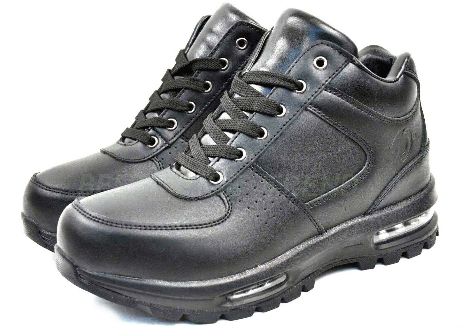 NEW MEN AIR HEEL LEATHER ACG STYLE WINTER SNOW HIKING TRAIL BOOTS