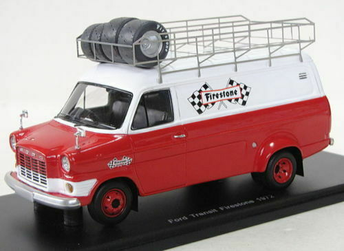 Spark 1972 Ford Transit Supervan Mk1 1 43  S0275 Firestone Racing Team