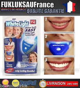 whitelight kit blanchiment dentaire