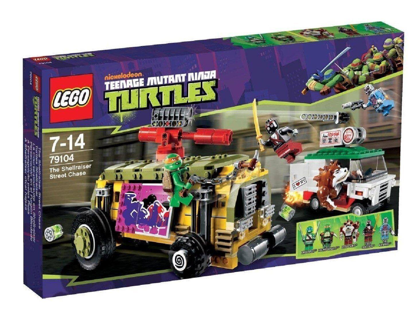 Lego Tortues Ninja™ 79104 Tortues Tortues Tortues Shellraiser Neuf Emballage D'Origine (B-Ware) 2e73d7