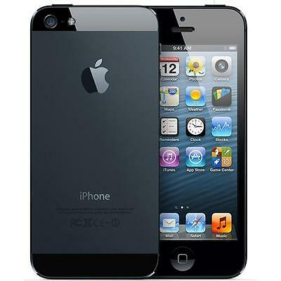 Apple iPhone 5 32 GB Black (Unlocked) good condition 12 months warranty