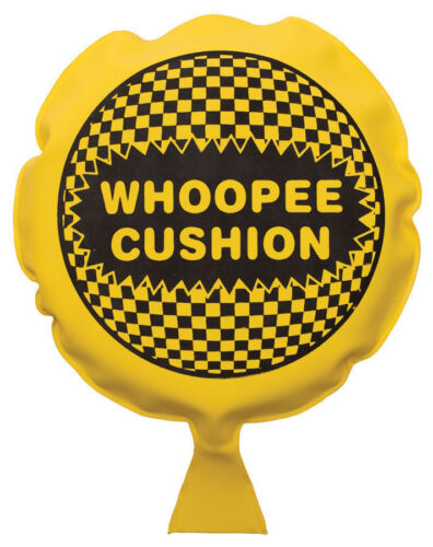 4 Packs NEW AUTO INFLATE WHOOPEE CUSHION FART PARTY