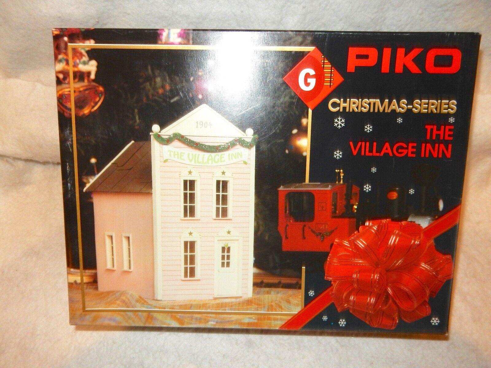 Piko  62202 Village Inn Kit para FerroCocheril Escala G-SERIE X-Mas-nueva Con Caja  --