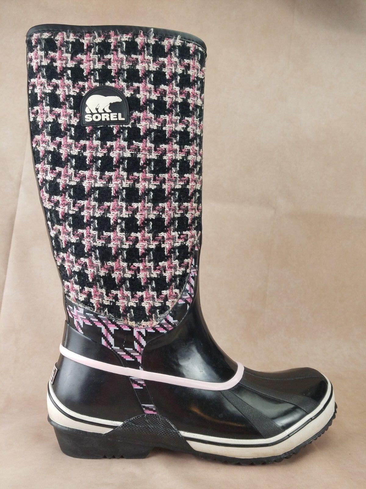 sconto Sorel Sorellington donna Winter Knee avvio Dimensione 10 nero nero nero rosa Waterproof  ordina ora i prezzi più bassi