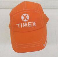 Headsweats Timex Coolmax Machine Washable Adjustable Size Race Hat Orange