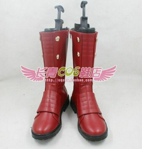 Details about  /Jason Peter Jay Garrick The Flash cosplay shoes boots Custom-Made