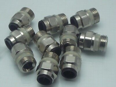 12mm x 1/2 Bspp Male Stud John Guest Pack of Ten, Great Quality Push Fit XXXXXXX