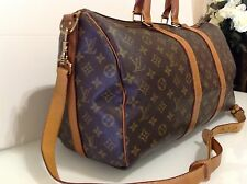 AUTHENTIC Louis VINTAGE Vuitton Keepall 45 Overnight Bag RRP £ 1170. VG cond
