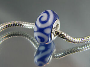 925-SILVER-STAMPED-BLUE-MURANO-GLASS-BEAD-FOR-EURO-STYLE-CHARM-BRACELET-DC-199