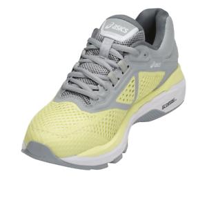 Details zu Asics GT-2000 6 - Damen Laufschuhe - Running - Gelb-Grau-Weiß -  T855N-8501