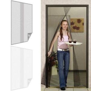 insektenschutz t rvorhang fliegengitter t r fliegennetz moskitonetz m ckenschutz ebay. Black Bedroom Furniture Sets. Home Design Ideas