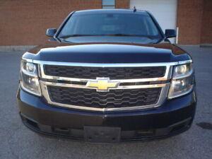 2016 Chevrolet Tahoe 4X4,EX-POLICE,BLK/BLK,CERTIFIED