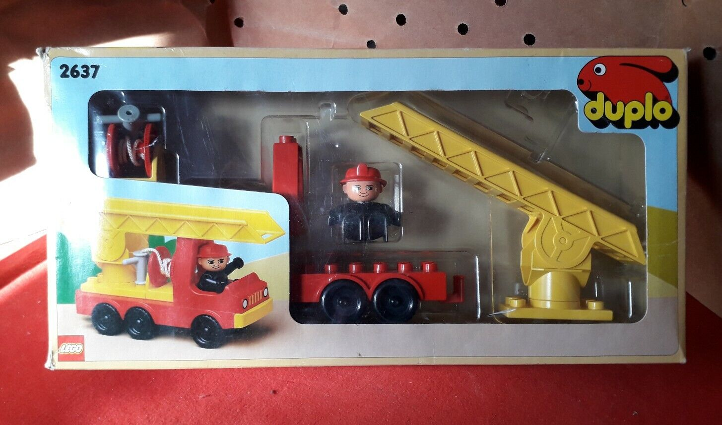 Lego Duplo 2637 Fire Engine - completo 100%