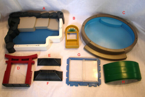 Pick /& Choose Playmobil  ZOO ENCLOSURE Parts 1.39-3.99 w// Combined Shipping