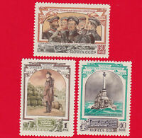 1954 Russia USSR Defense of Sevastopol MNH** 1700-2 Sc 1726-8 Mi 1728-0