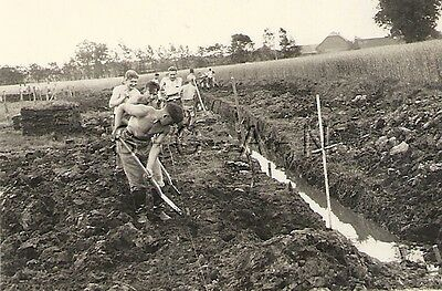WWII German Large RP- Soldier- Semi Nude- Gay Interest