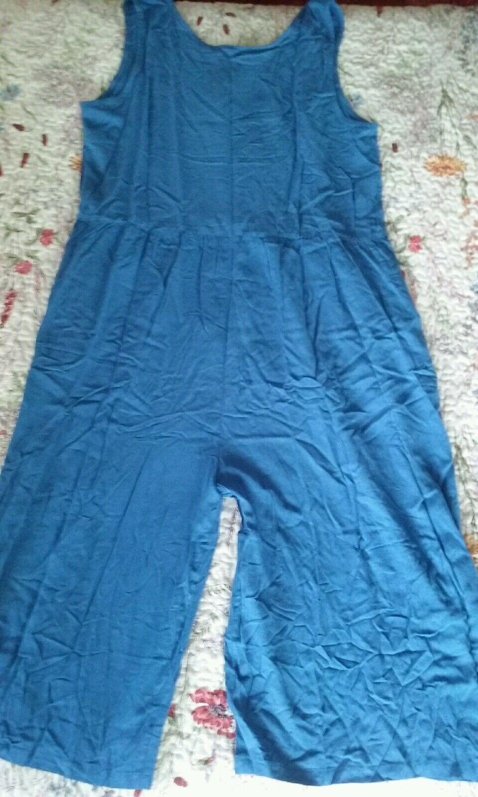 bluee playsuit, jumpsuit 16 18