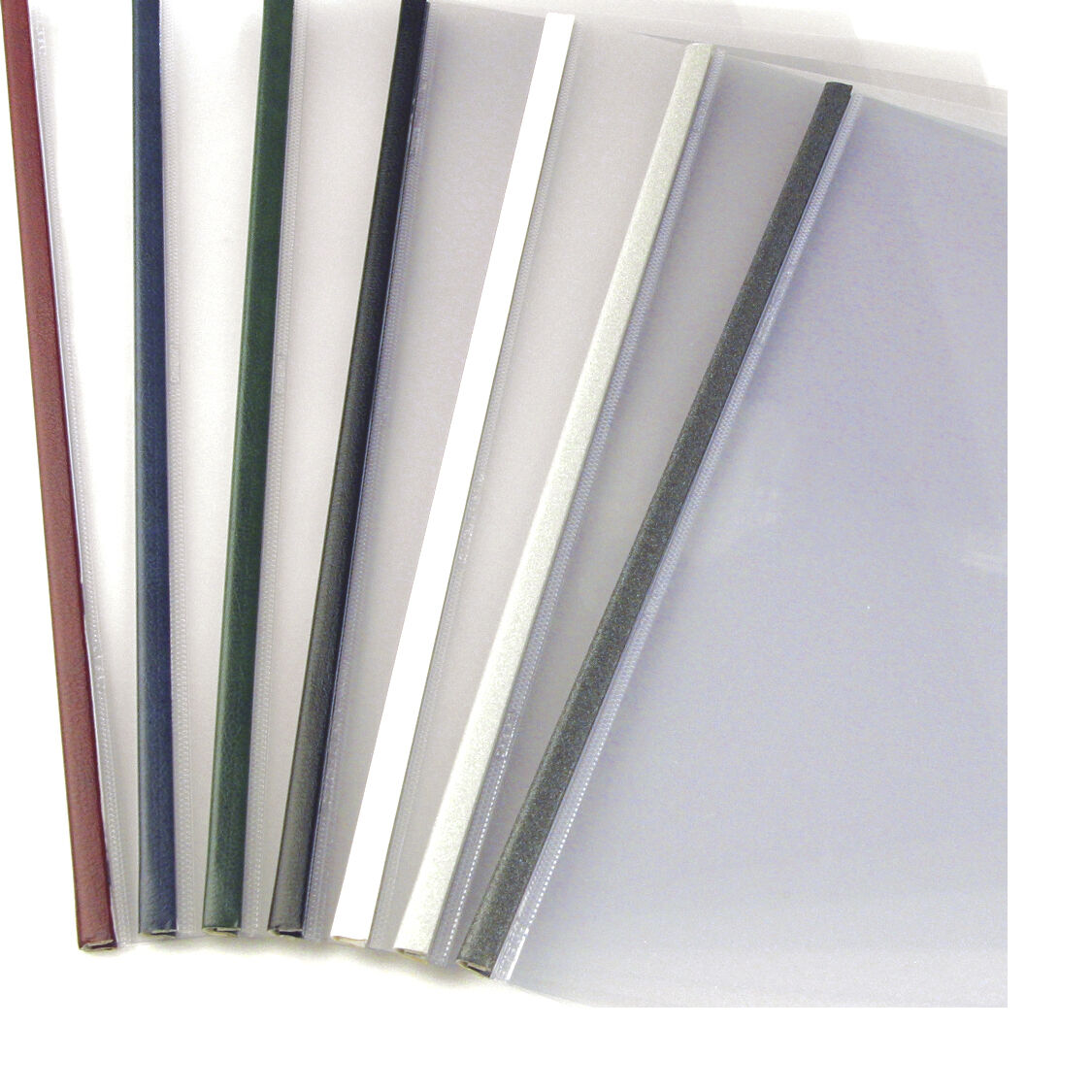 15mm - White - 100pcs UniBind SteelMat Frosted Covers