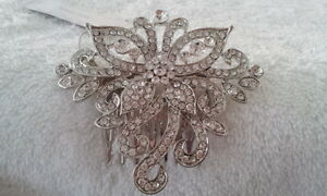JOHN-LEWIS-NEW-Intricate-Diamante-Effect-Hair-Comb-Clip-Bridal-Party