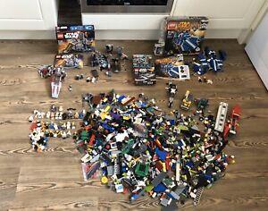 Grosse-Lego-Star-Wars-LOTR-City-75087-75137-Lasten-Minifiguren-Konvolut-Lot