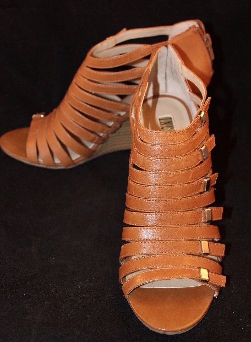 Inc International Concepts Mujer Mujer Mujer Dionne Marrón Tostado Cuña Sandalia Zapatos Talla 8 M  muy popular