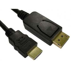 5m-DisplayPort-to-HDMI-Cable-Male-to-M-Plug-Monitor-PC-Laptop-TV-Adaptor-Lead
