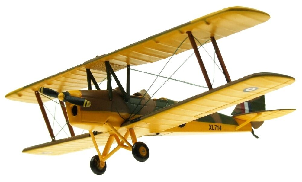 AVIATION72 AV7221002 1 72 DH82A TIGER MOTH RAF TRAINER XL714 NEW RELEASE