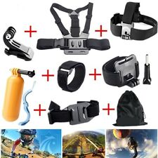 8-in-1 Accessories Kit Head Chest Mount for Gopro HD Hero 3+/3/2/1 SJ4000 Camera