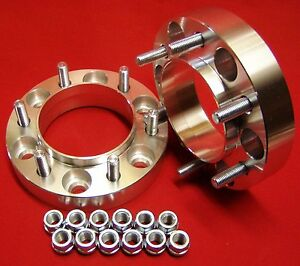 """1.5"""" WHEELS SPACERS ADAPTERS Expedition 6 lug 6x135 