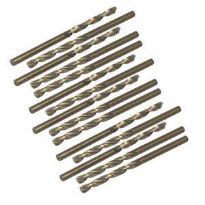 15stk 3,2mm orificio DMR HSS cobalto métricos Espiral HSSE herramienta de giro