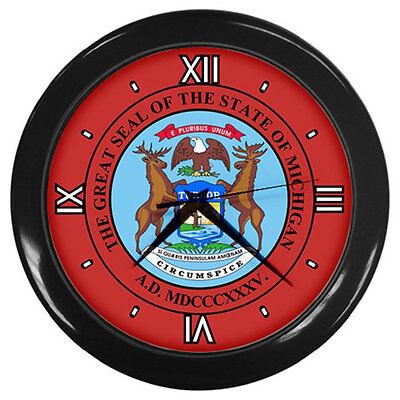 State of Michigan Clock