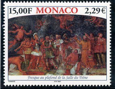 Monaco Capable Timbre De Monaco N° 2313 ** Palais De Monaco Fresque Au Plafond Cote 7 € Supplement The Vital Energy And Nourish Yin