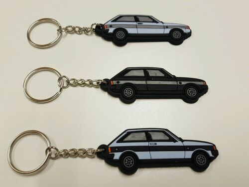 TALBOT SUNBEAM LOTUS Moonstone blu e nero a righe PORTACHIAVI Avon