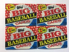 Topps 1989 1st Series Big Baseball Cards Unopened Pack
