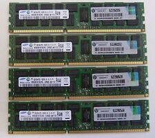 32GB (4x8GB) 500205 500662 PC3-10600R ECC  DDR3-1333MHz HP DELL IBM Apple