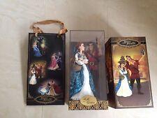 Disney Fairytale Designer Collection Belle & Gaston Limited Edition Doll Set