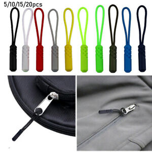 Travel Zip Puller Replacement Ends Lock Zips Cord Rope Pullers Zipper Pull