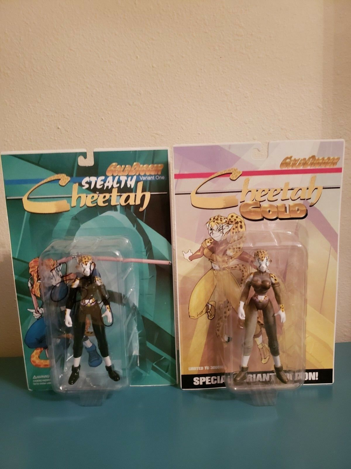 Gold Digger Digger Digger Stealth Cheetah Variant One & Cheetah Gold  FROT Perry Autograghed f1c209
