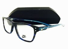 New Nike Eyeglasses 7230 KD 418 Matte Midnight Navy/Tropical Teal 52•16•140