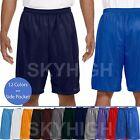 Mens MESH SHORTS Basketball Pants Fitness Jersey Soft Gym Sports Light Pockets