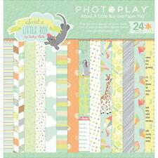 8 Designs//3 Photoplay Paper PhotoPlay Double-Sided Paper Pad 6X6 24//Pkg-Mad 4 Plaid Fall