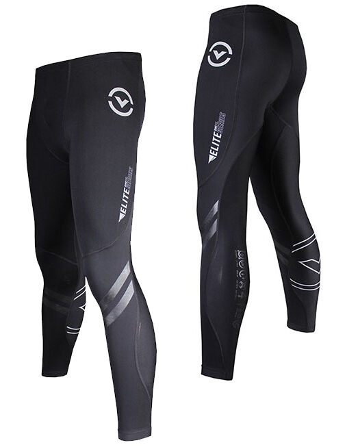 Virus Men's Elite Series Bioceramic Compression Pants Recovery + Endurance AU10