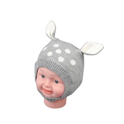 LC/_ EG/_Winter Baby Jungen Mädchen Beanie-Mütze warm süß Kaninchen Ohr Kleink