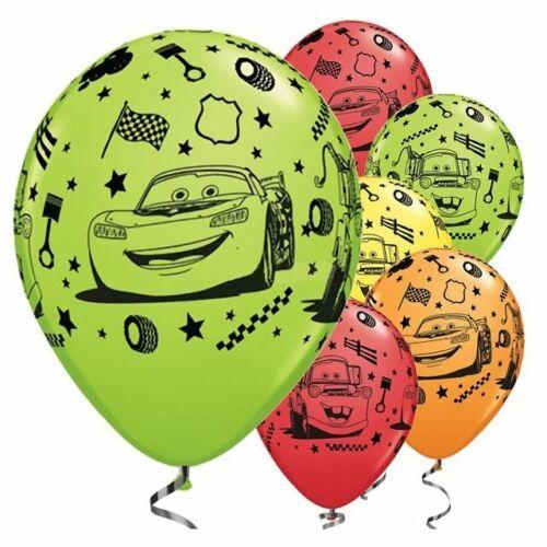 DISNEY Cars 3 Balloons Foil Latex SUPER SIZE SHAPES Lightning Mcqueen Mater