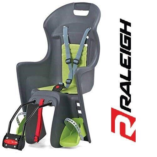 Green Grey Raleigh Avenir Snug Rear Fitting Bike Child Seat