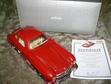 C2   Märklin 1092 MB  300SL rot Uhrwerk Museumsmodell 1993 Gullwing