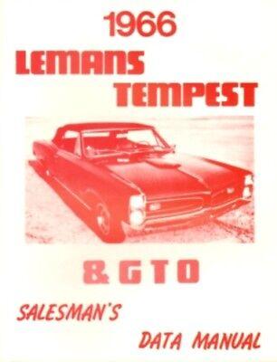 PONTIAC 1966 Tempest & GTO Wiring Diagram 66 | eBay