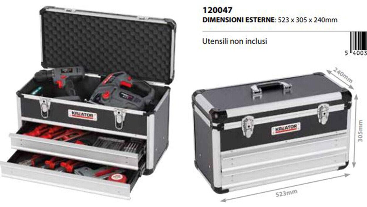 Topcase Koffer Reisetasche Aluminium Träger Werkzeughalter 523x305x240